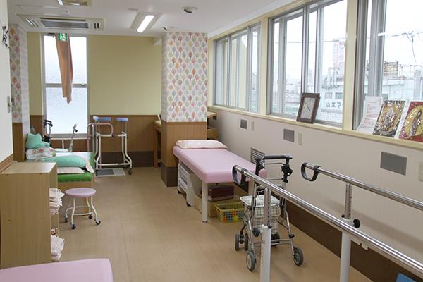 病棟リハビリ室